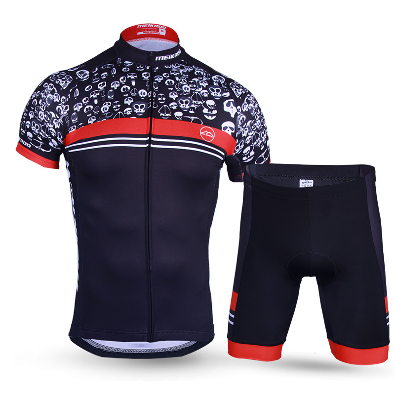 Pro Team Cycling Jersey Set Mens Sports Suits Bike Clothing Summer Short Sleeve Quick Dry roupa ciclismo Germany Jersey Set xintown summer breathable mens team short sleeve cycling jersey riding clothing polyester bike set fluorescent shark