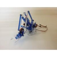 2018 4 DOF Acrylic MeArm Robot Arm DIY Mini Robotic Arm for 9g Servo