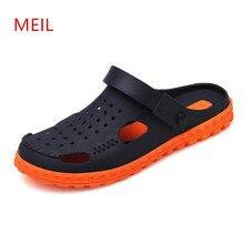 Mens Sandals Summer Breathable Beach Leather Men Leisure Slippers Sandal for Sandalias Chanclas Hombre