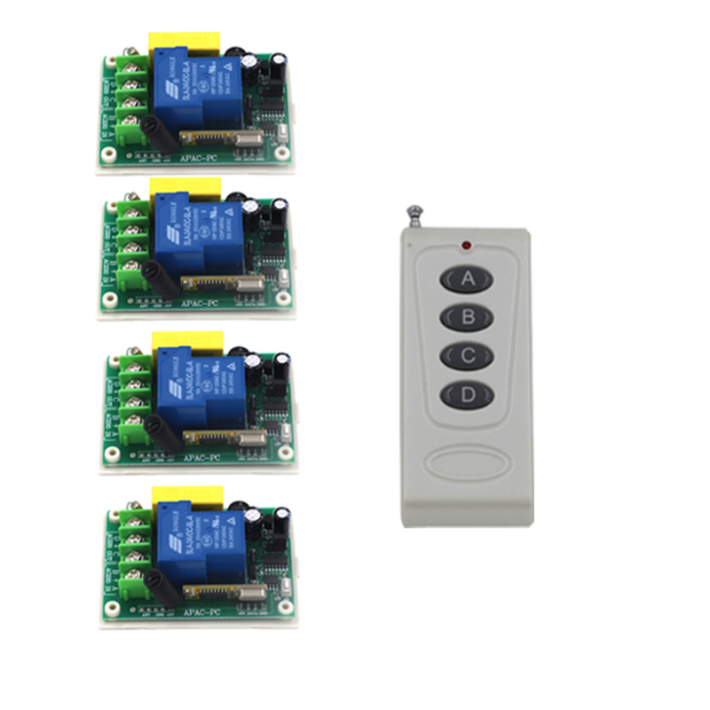 220V 30A 3000W RF Wireless Switch Light/LED/Lamp Applicance ON OFF Power Switch Output adjusted 4363 цены