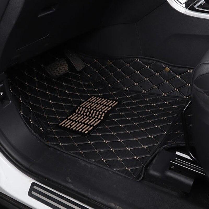 car floor mat carpet mats for vw polo 6r 9n sedan sagitar tiguan L passat b5 b5.5 b6 b7 b8 cc Magotan 2018 2017 2016 2015 2014