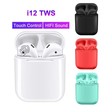 i7s i9s i11 i12 TWS Bluetooth Earphones in-ear Sports Mini True Wireless Headphones Earbuds With Charging Case Drop Shipping