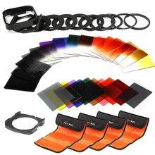 K & F Concepto 40in1 Graduado filtro de Color ND Gris conjunto Titular kit para nikon d5300 d5200 d5100 d3300 d3200 d3100 dslr cámaras