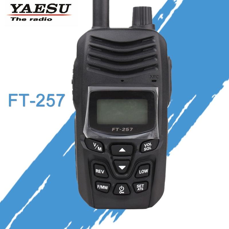 walkie-talkie YAESU FT-257 Dual Band 400-480MHz FM pršut dvosmjerni - Voki-toki - Foto 1