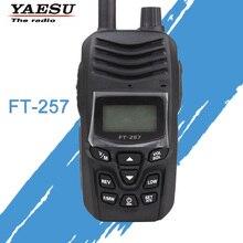 כללי ווקי טוקי לyaesu FT 257 Dual Band 400 480MHz FM חם שתי דרך רדיו משדר YAESU FT 257 רדיו