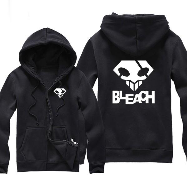 Bleach Logo Zip Hoodie 1