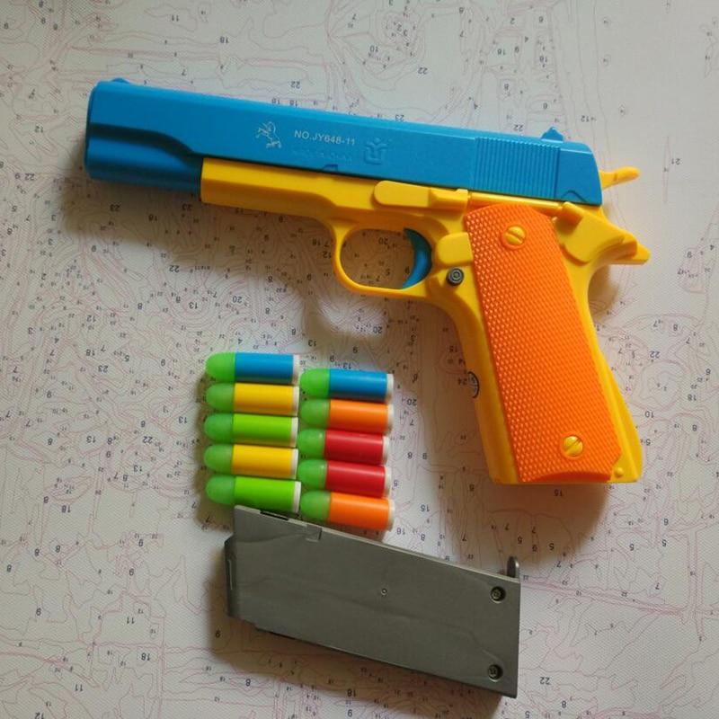 Image is loading Nerf-N-Strike-Elite-Strongarm-Blaster-Dart-Revolver-