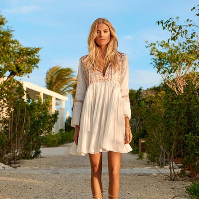 Women Fashion Summer Beach Dress Bikini Swimwear Cover Up Sarong Swimsuit