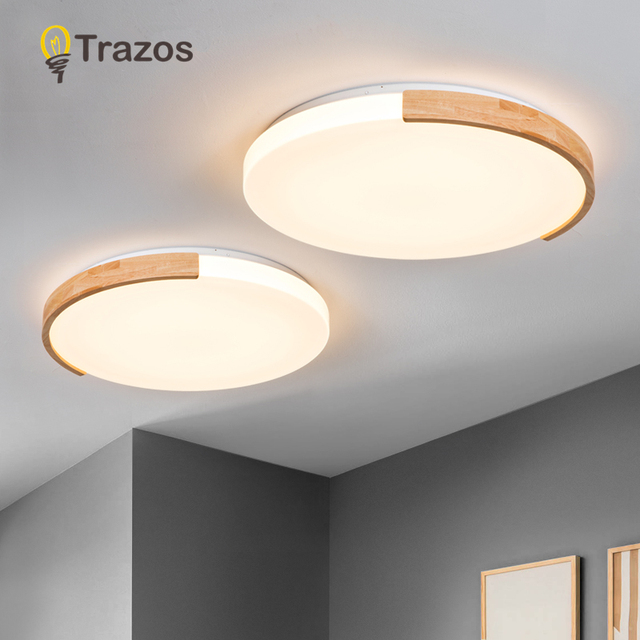 TRAZOS LED Dimmable Pendant Lights With Remote Control For Living Room Bedroom Circle Decor Kids Pendant Lamp Dining Luminaire