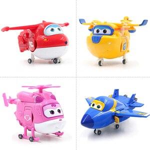 Image 5 - 25 stil Großen Super Flügel Verformung Flugzeug Robot Action figuren Super Flügel Transformation Spielzeug für Kinder Geschenk Brinquedos