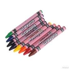 1 Набор восковых карандашей Детские краски для рисования эскизов художественный инструмент Прямая поставка