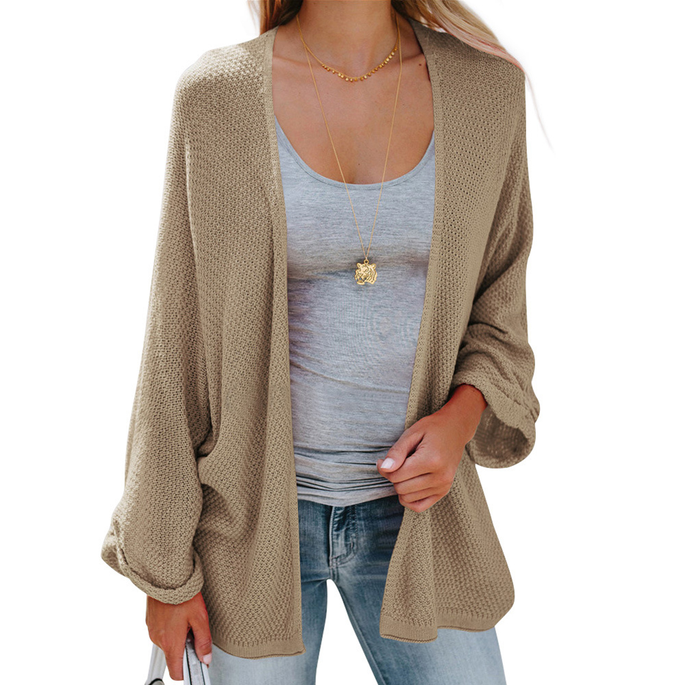 ff2e3f4971fabf 2018 New Women Winter Woolen Sweater Coat Baggy Cardigan Coat Long Chunky  Knit Oversized Sweater Lady ...
