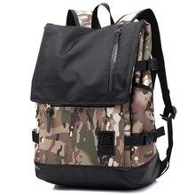 2016 летний новый мужчины сумка многофункциональный Оксфорд рюкзаки пикник rich multi-compartment доказательство воды случайный рюкзак 2193