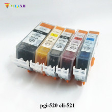 PGI-520 CLI-521 Ink Cartridge For Canon PGI525 CLI521 PIXMA IP4600 IP4700 MP540 MP550 MP560 MP620 MP630 MP640 IP3600 MX860 купить недорого в Москве