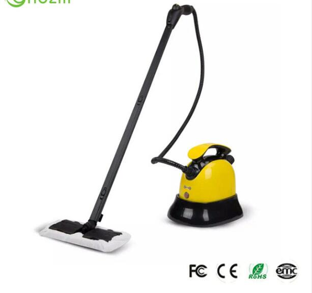 1800W 1.8L Multifunctional Steam Cleaner Household electric steaming mop high temperature sterilization water spray Cleaner 1pc household high temperature kitchen bathroom steam cleaning machine handheld high temperature sterilization washing machine