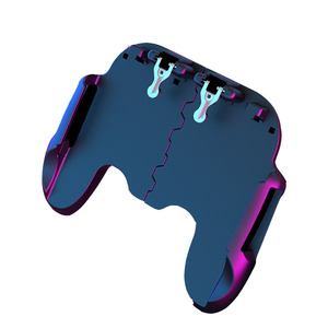 Image 3 - Hot Sale Game Controller Game Assistance Handle For PUBG Mobile2000mAh Emergency Charging Cooling 3 in 1