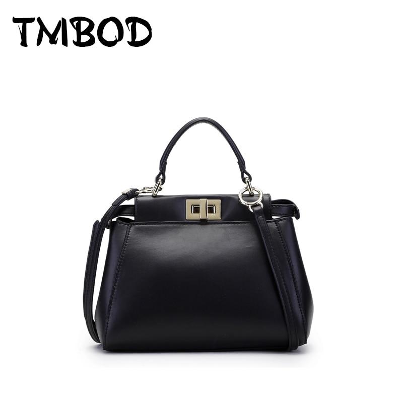 New 2017 Designer Brand Classic Peekaboo Tote Bag of 3 Size Split Leather Handbags Women Ladies Messenger Crossbody Bags an310