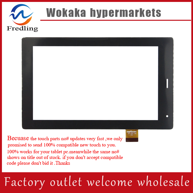 Original New Touch Screen For 7 MegaFon Login 3t MFLogin3T Tablet Touch Panel digitizer Glass Sensor Replacement Free Shipping original touch screen panel digitizer glass sensor replacement for 7 megafon login 3 mt4a login3 tablet free shipping