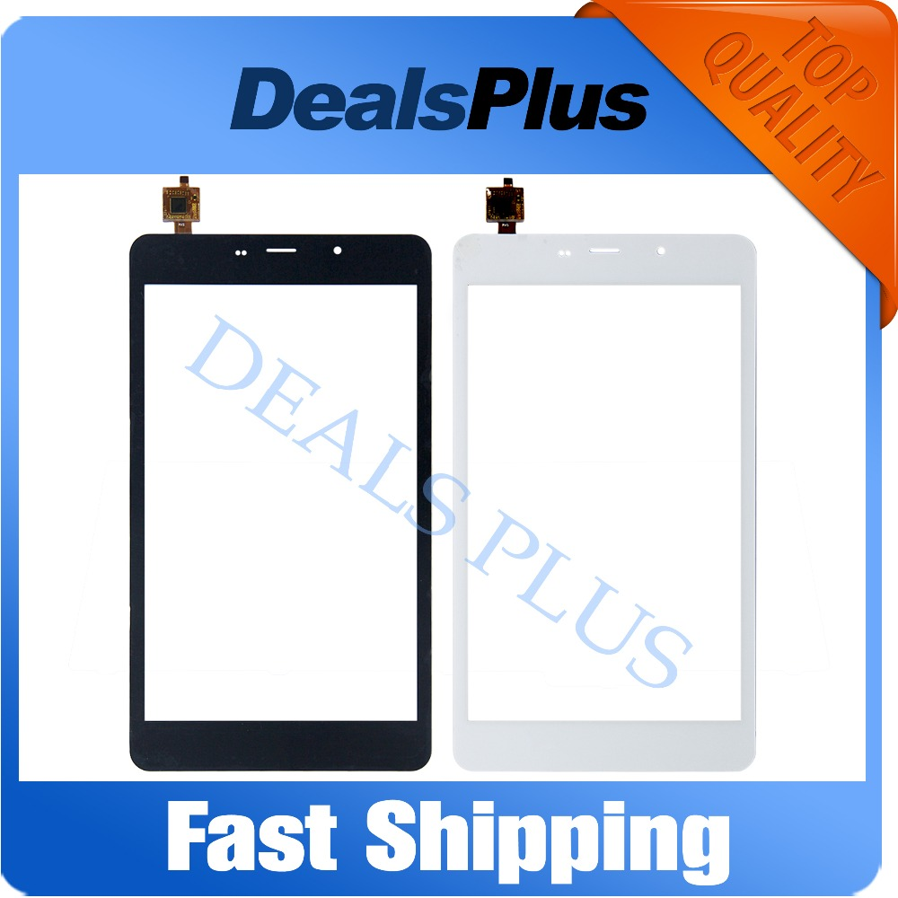 Replacement New Touch Screen Digitizer Glass For Cube T8 Ultimate/T8 Plus XC-PG0800-026-A1-FPC 8-inch Black White Free Shipping 1 pcs for iphone 4s lcd display touch screen digitizer glass frame white black color free shipping free tools