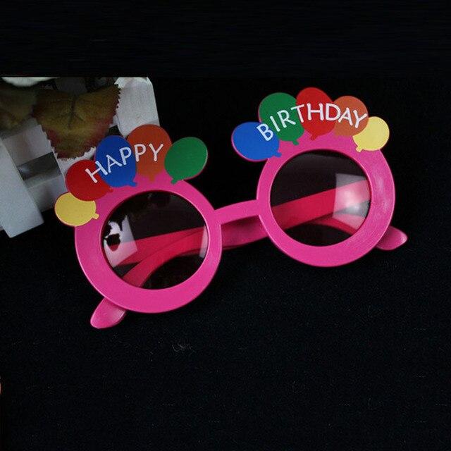 Fresco Feliz cumpleaños anteojos marcos para adultos niños Photo ...
