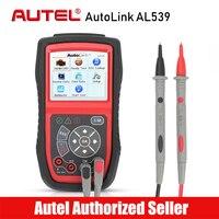 Autel AutoLink AL539 OBD2 Scanner Electrical Voltage Test 12V Battery Tester AVOmeter Car Diagnostic Tool DIY Code Reader