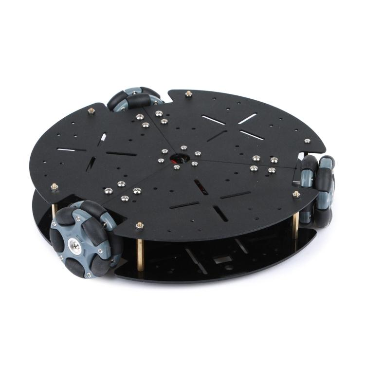 58mm omnidirectional wheel chassis, intelligent vehicle, omnidirectional mobile robot, Omni wheel, speed measuring motor mobile robot motion planning