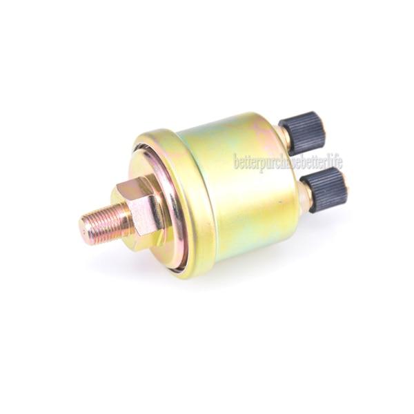Oil Pressure Sender,VDO type,100psi 240-33 ohms,low 11psi alarm//warning switch