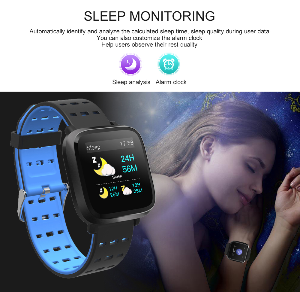 Y8 Smartwatch Wearable Device Bluetooth IP67 Waterproof Pedometer Heart Rate Monitor Color Display Smart Watch For AndroidIOS (14)