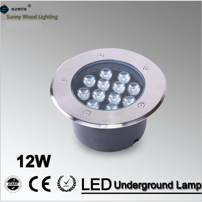 Free shipping LED underground lamp 12W inground light ,built in IP67 outdoor lighting AC85-265VLUL-A-12W free shipping led underground lamps 6w inground light ip67 built in outdoor lighting ac85 265v lul a 6w 3years warranty