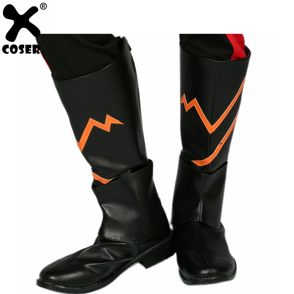 XCOSER The Flash Season 3 Edward Clariss The Rival Boots