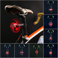 Personal Cycling Bicycle Lights LED Rechargeable USB Bicycle Light Innovative LED Bike Taillight Warning Light Cycling