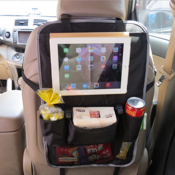 Diaper Car Seat Back Organizer Multi-Pocket Holder Auto Felt Car Storage Bag Seat Back Organizers