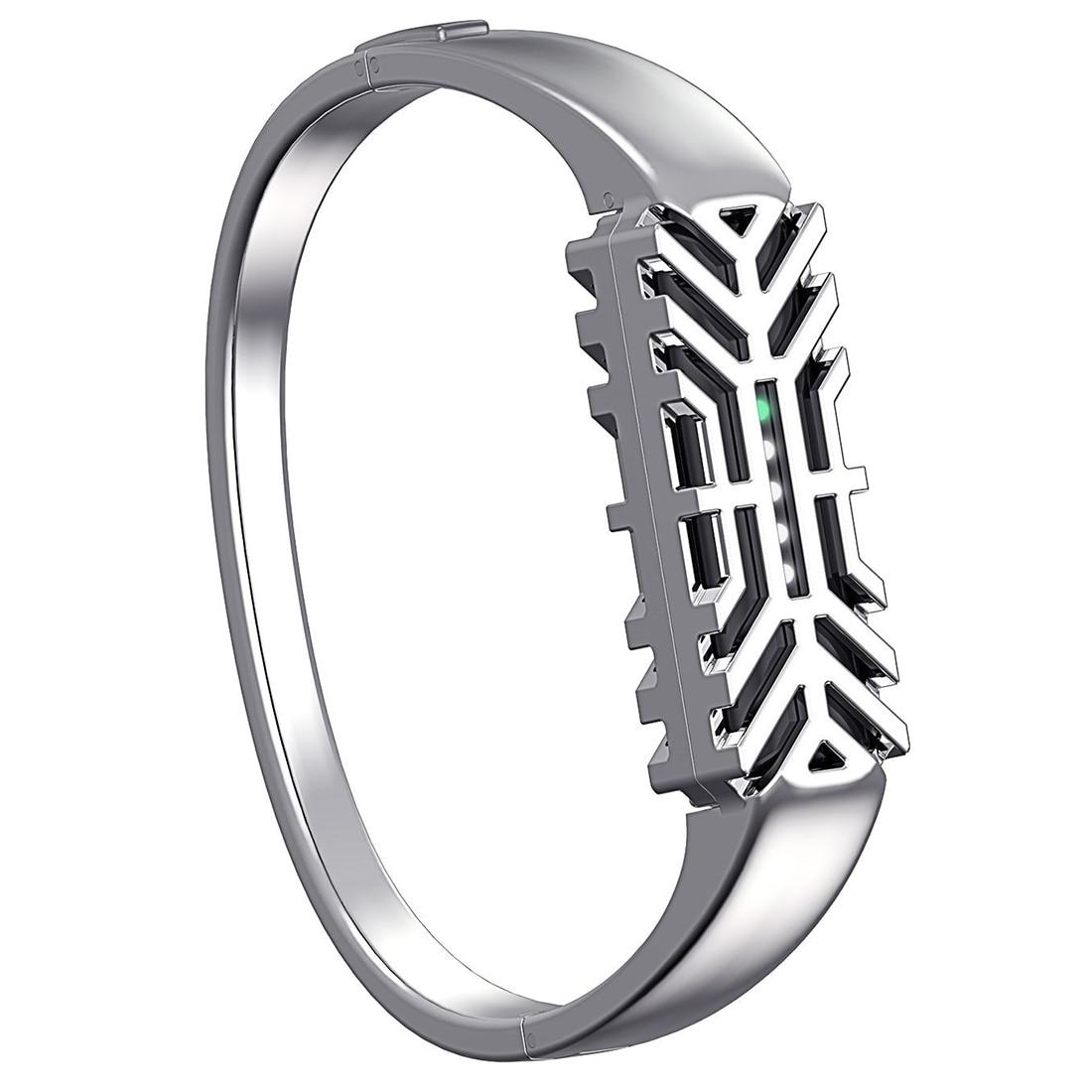 For Fitbit Flex 2 Bands Bangle Bracelet, Metal Accessories Bands for Fitbit Flex 2 Fitness Wristband