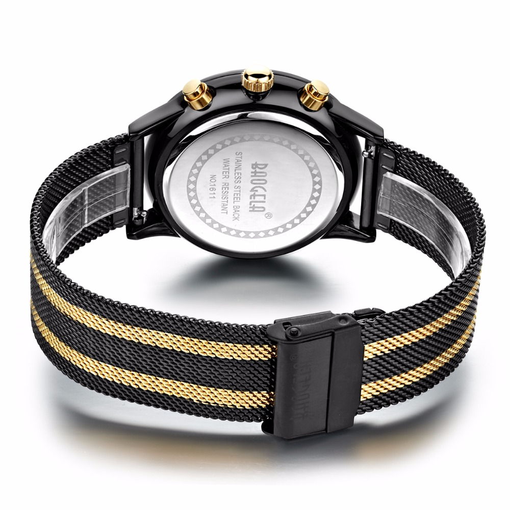 BGL1611-black gold watchband-2