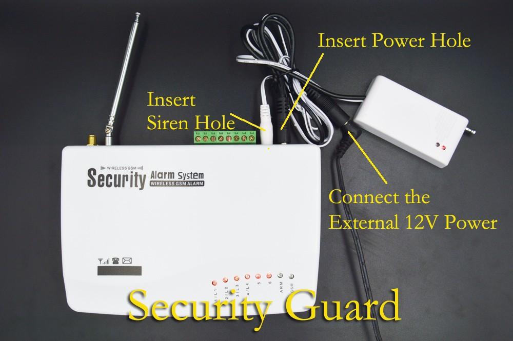 GSM + Siren