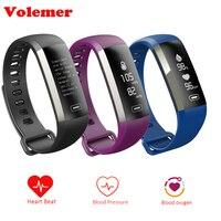 Volemer M2s M2 pro Смарт Браслет часы интеллектуальные 50 слово информационный дисплей измерять кровяное давление, пульсометр крови