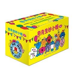 Mr. Men & Little Miss, полный набор из 83 томов для От 2 до 6 лет, детские книги для картин, китайское издание (No Pinyin)
