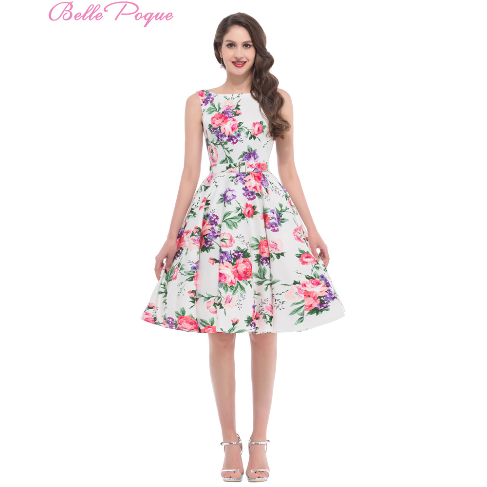 Free shipping housewife picnic dress flower pattern floral print free shipping housewife picnic dress flower pattern floral print vintage dress 50s 60s plus size rockabilly swing dress bp000002 in dresses from womens jeuxipadfo Choice Image
