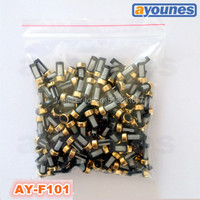 200pieces Set 12 6 3mm Top Feed Auto Parts Universal Micro Basket Fuel Injector Filter For