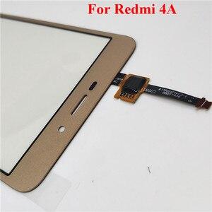 Image 4 - Panel de cristal exterior para Xiaomi Redmi 4 4 Pro 4A 4X, repuesto de 5,0 pulgadas, Sensor de Digitalizador de pantalla táctil