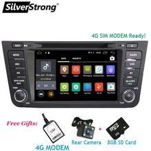 SilverStrong Android8.1 4G Car DVD for Geely GX7 Emgrand X7 With Navigation radio 2din with 4G Modem ready for SIM card