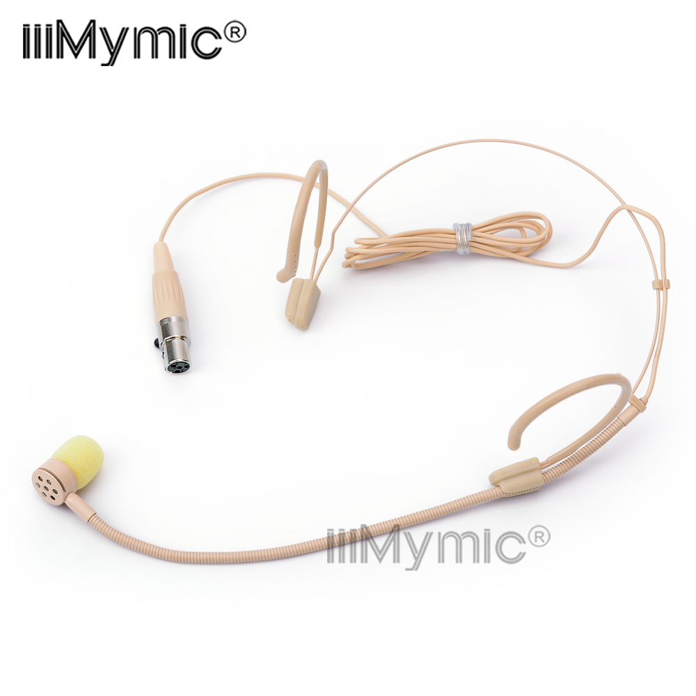 perfect for singing concert pro headset microphone mini 4 pin xlr ta4f cardioid condenser mic. Black Bedroom Furniture Sets. Home Design Ideas