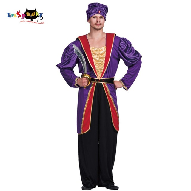 Men Maharaja Sultan Costume Great Ruler King Indian Empire Carnival Adult Male Outfits Fancy Dress Clothing  sc 1 st  AliExpress.com & Men Maharaja Sultan Costume Great Ruler King Indian Empire Carnival ...