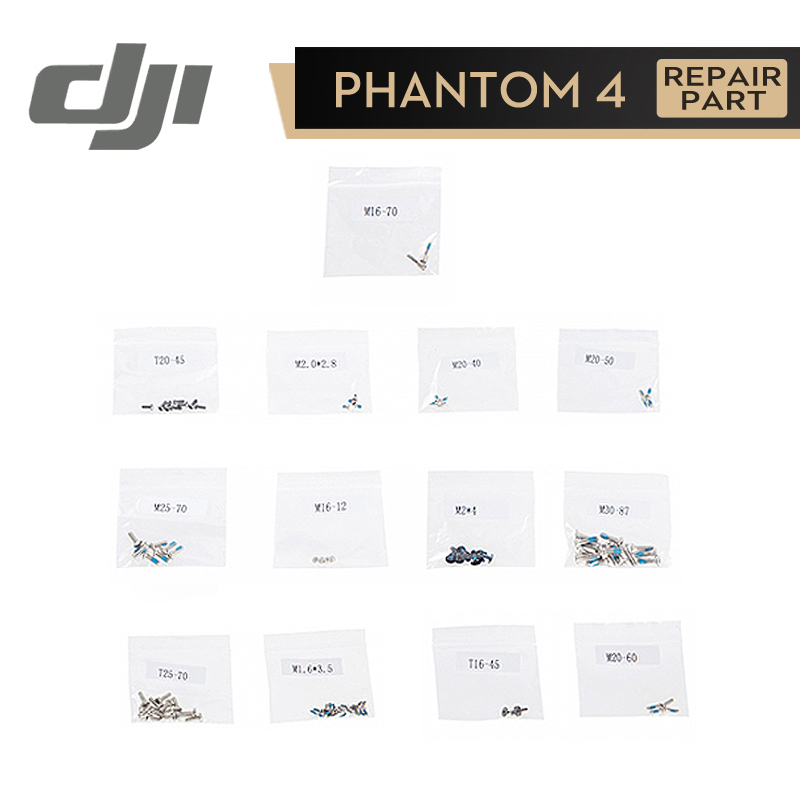 цена на DJI Phantom 4 Screw Set for Phontom4 Original Accessories Parts