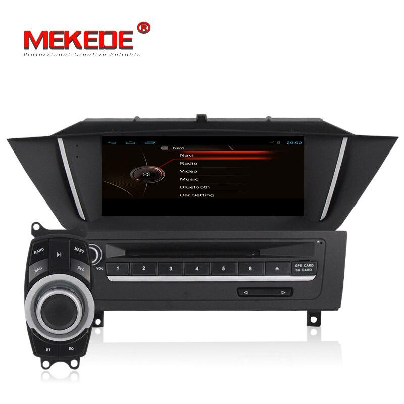MEKEDE Android Smart voiture navigation gps multimédia lecteur dvd pour BMW X1 E84 2009 2010 2011 2012 audio vedio y compris canbus