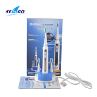 Seago SG 909 Sonic Electric Toothbrush Rechargeable Ultrasonic Tooth Brush Inductive Charging Washable Oral Hygiene