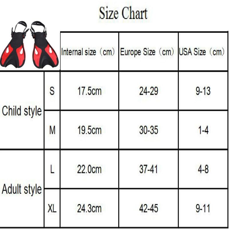 Adjustable Super-soft Comfortable Snorkeling Swimming Fins 1