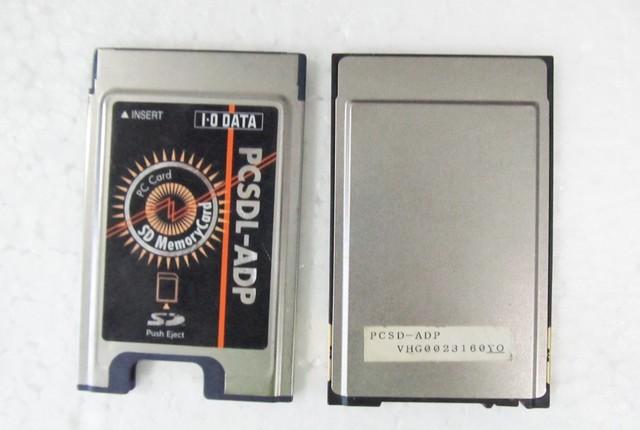 PCSDL-ADP PC CARD ADAPTADOR de CARTÃO SD para leitor de cartão PCMCIA