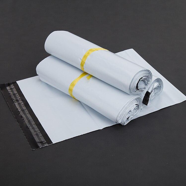 (10 Teile/los) 15x27 Cm Weiß Kuriertaschen Kurier Umschlag Verschiffen Beutelpost Tasche Dauerhafte Modellierung
