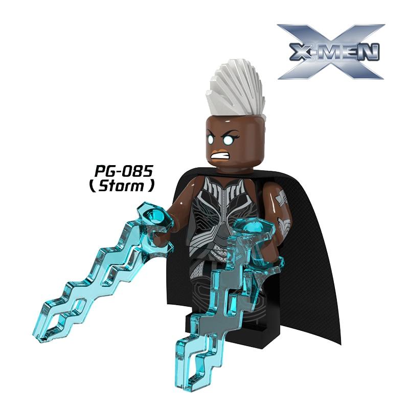 New 1PC X-Man Storm Minifigures Super Heroes Avengers Building Blocks Bricks <font><b>Action</b></font> <font><b>Figure</b></font> Learning DIY Toys For Kids Xmas Gift
